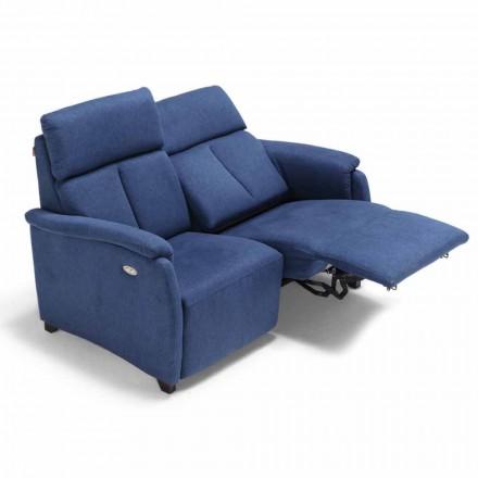 Modernes motorisiertes Zweisitzer-Sofa mit 1 elektrischer Sitz Gelso