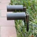 Außenscheinwerfer aus Aluminium mit LED und Schutzglas Made in Italy - Forla