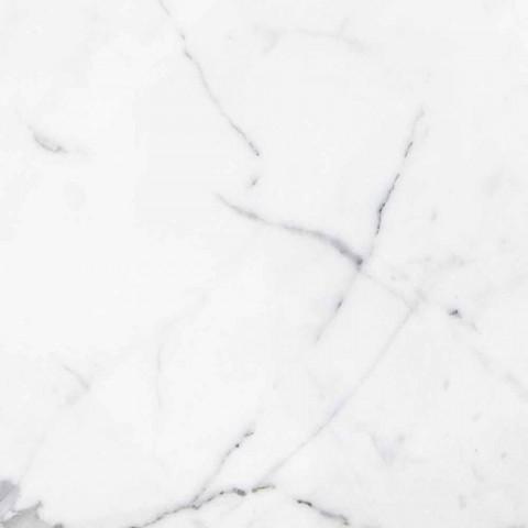 Briefbeschwerer im Ananas-Design aus weißem Carrara-Marmor Made in Italy - Arta