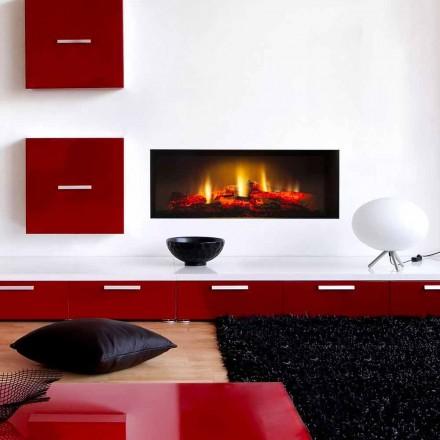 Faux Kamin Elektroeinbauleuchten Led-Bildschirm und HD Edinburgh Singles