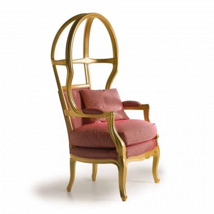 Fratelli Boffi Babette Sessel Design aus Holz, aus Stoff gepolsterter