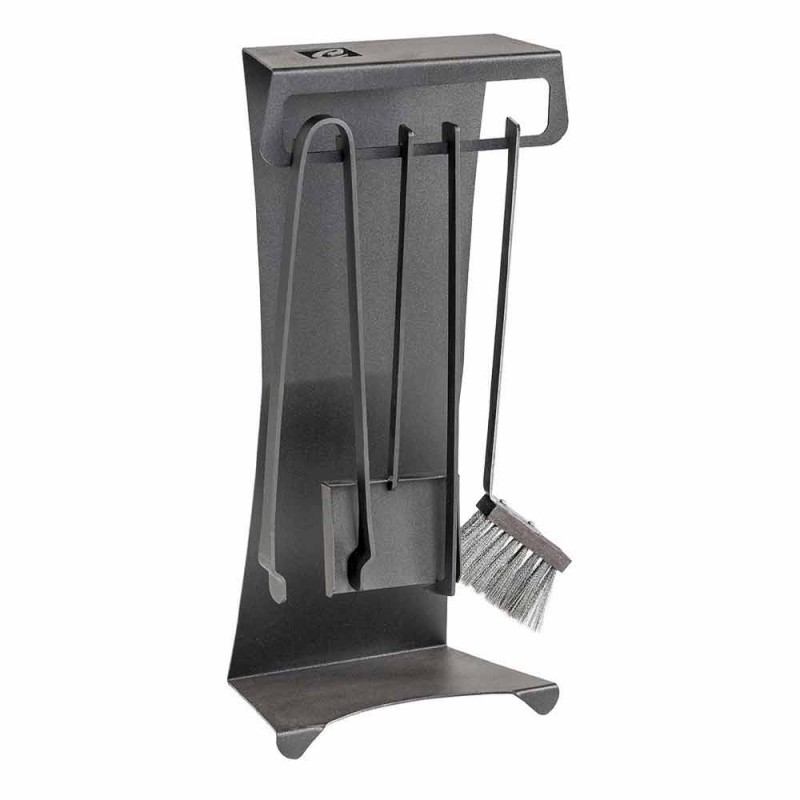 4er-Set Made in Italy Design Stahlkaminwerkzeuge - Chandler