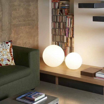 Moderne Boden- / Tischkugellampe Slide Globo, hergestellt in Italien