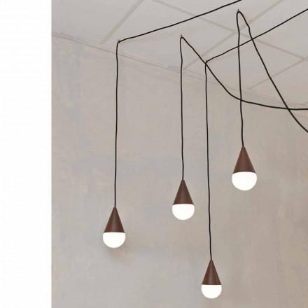 Hängelampe mit 4 Lichtern in modernem Design Drop