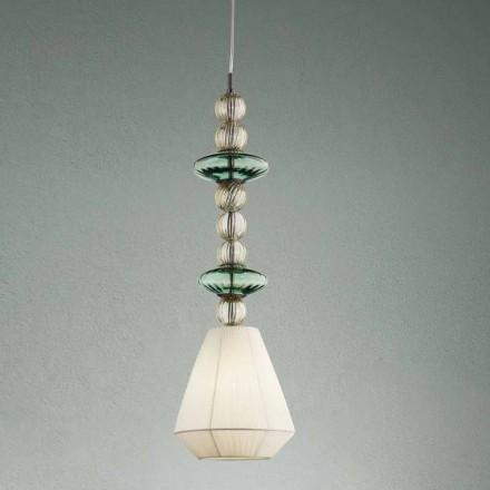 Pendelleuchte aus Venedig Glas Handmade in Italy - Amilia