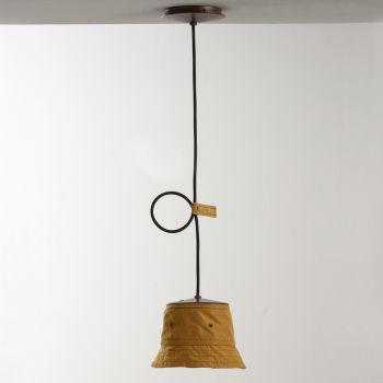 Handgefertigte Lampe aus Polyester und Aluminium Made in Italy - Toscot Junction