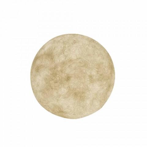 Außenleuchte für Wandmontage In-es.artdesign A. Moon Out in Nebulite