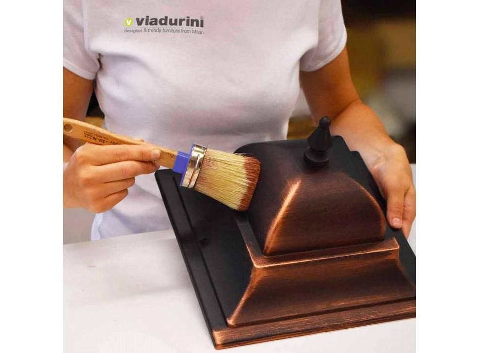 Außenwandleuchte aus Aluminiumdruckguss hergestellt in Italien, Anusca