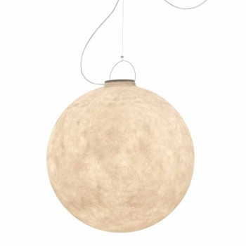 Außenpendelleuchte In-es.artdesign Luna Out in Nebulite
