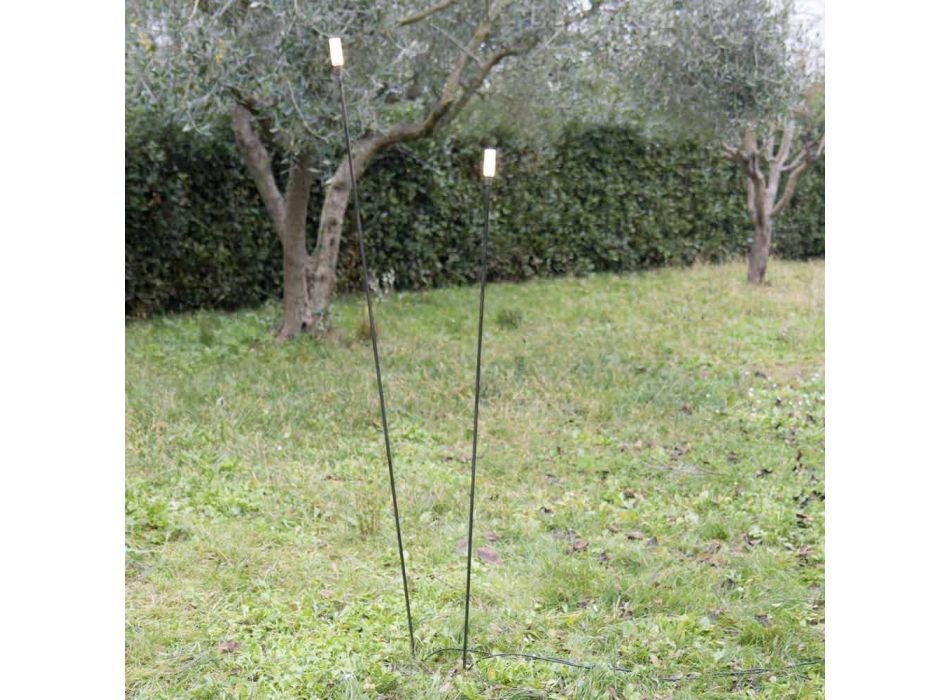 Außenlampe aus lackiertem Eisen Minimal Design Made in Italy - Filo
