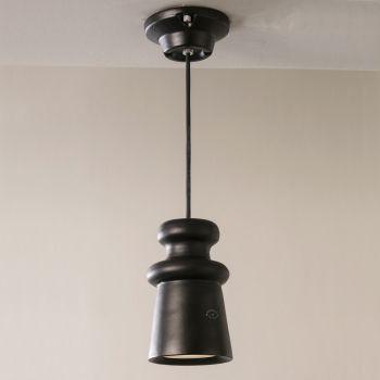 Außenlampe aus Majolika und Metall Made in Italy - Toscot Battersea