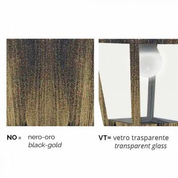 Außenwandleuchte aus Aluminium hergestellt in Italien, Kristel