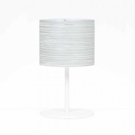 Tischlampe mit modernem Design, Durchmesser 30 cm, Debby