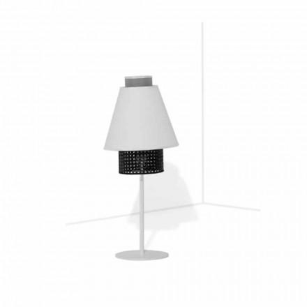 Tischlampe mit Metallstruktur Modernes Design Made in Italy - Sailor
