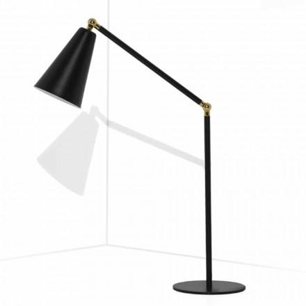 Moderne Tischlampe mit Metallstruktur Made in Italy - Zaira
