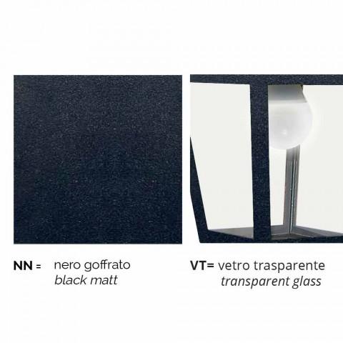 Außenstehleuchte aus Aluminium hergestellt in Italien, Aquilina