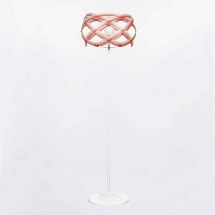 Designer Stehleuchte aus Methacrylat mit Nuance Dekoration Vanna H187 cm