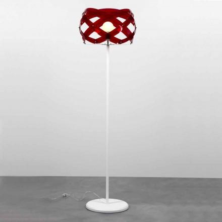 Moderne Designer Stehleuchte aus Methacrylat Vanna, H 187 cm