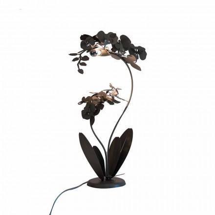 Moderne Stehlampe aus Eisen Made in Italy - Amorpha