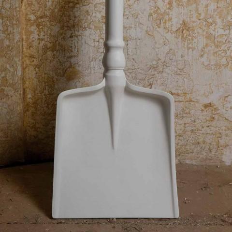 Außen Stehlampe in Weiß Technopolymer Design von 3 Formen - Werkzeuge