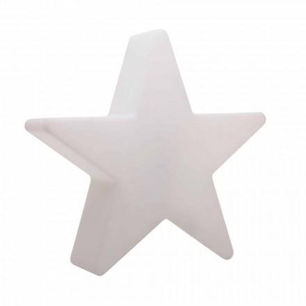 Stehlampe in weißer oder roter Sternform, modernes Design - Ringostar