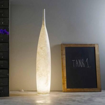 H142cm Stehleuchte im modernen Design In-es.artdesign Tank 1 farbig