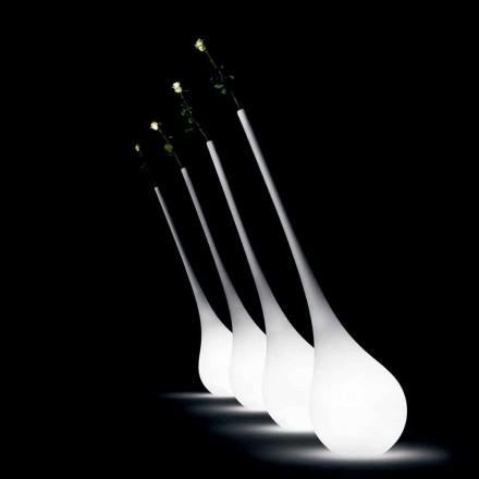 Design Kunststofflampe mit leuchtender Blumenvase - Ampulle von Myyour