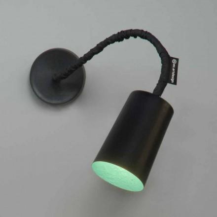Wandmontierte Kunstharzlampe In-es.artdesign Malen Sie mit einer modernen Platte