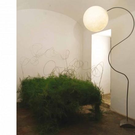 Moderne weiße Stehlampe Nebel In-es.artdesign Luna H210cm