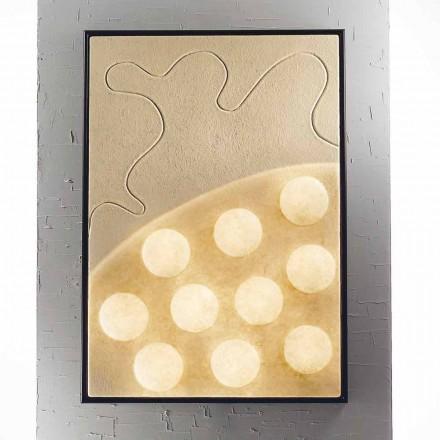 Wandleuchte / Panel / modernes Design In-es.artdesign Ten Moons nebulite