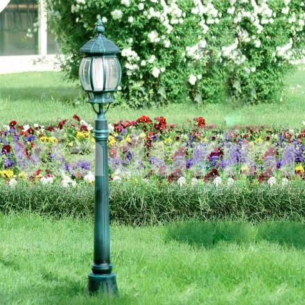 Gartenlaterne aus Aluminiumdruckguss, made in Italy, Anika