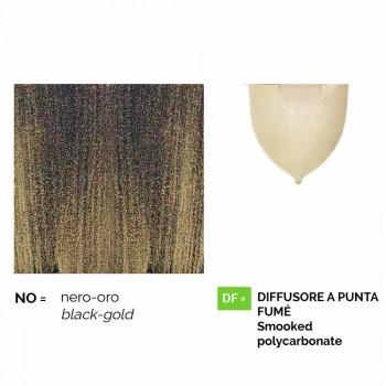 Wandlaterne für den Außenbereich aus Aluminium, hergestellt in Italien, Anusca