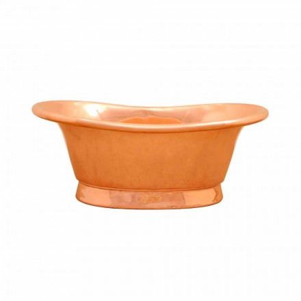 Kupfer Aufsatzwaschbecken handbearbeitet Cala