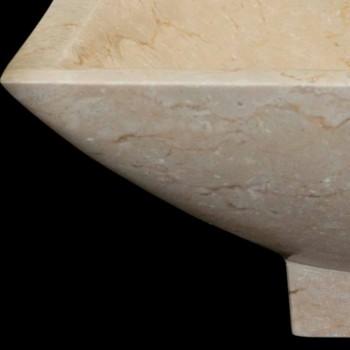 Waschbecken Design Badezimmer aus Naturstein Iria, Einzelstück
