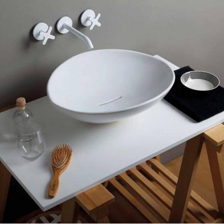 Aufsatzwaschbecken aus Keramik, modernes Design made in Italy Animals