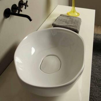 Designer Keramik-Aufsatzwaschtisch aus Italien Stem