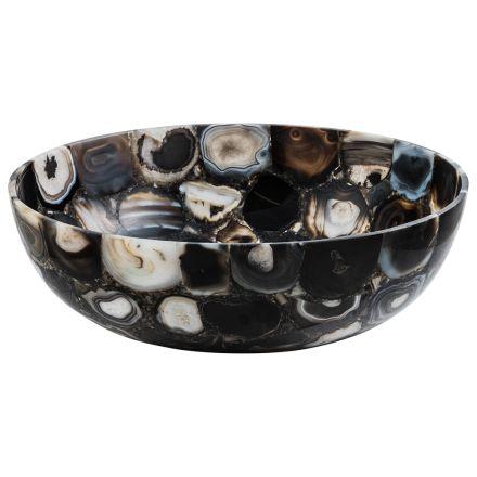Aufsatzwaschbecken aus Achat River Design, Einzelstück