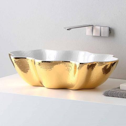 Modernes Design Keramik Waschtisch aus Italien Cubo