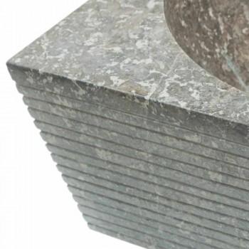 Waschbecken Unterstützung grau Naturstein, ein Stück Zor