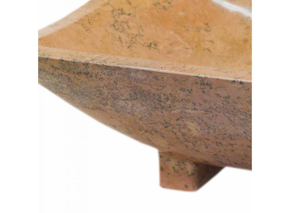 Waschbecken aus Naturstein Iria, 50x30x16 cm