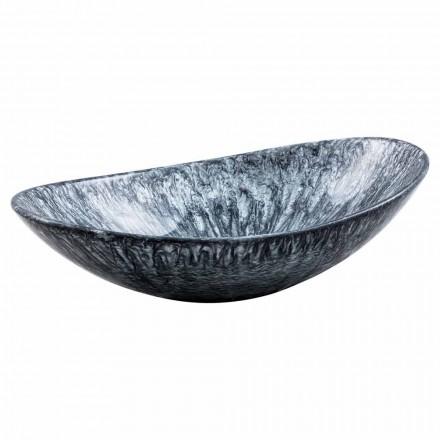 Modernes Aufsatzwaschbecken aus Kunstharz - Bottida