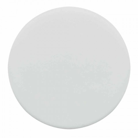 Arbeitsplatte Oval Modern Design Keramik Waschbecken Made in Italy - Zarro