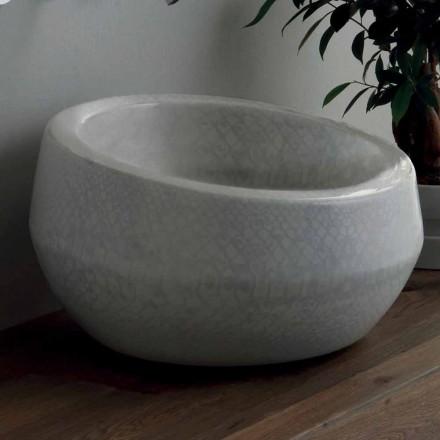 Design Aufsatzwaschbecken aus Python-Keramik in Italien Elisa