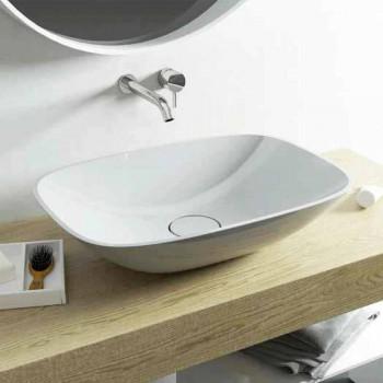 Freistehendes Waschbecken für modernes Badezimmer aus Italien Taormina Medium
