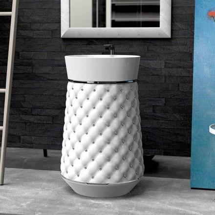 Waschbecken Freestanding in modernem Design aus Solid Surface® Elizabeth