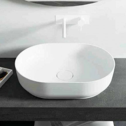 Design Waschbecken freestanding in Italien hergestellt Dalmine Medium