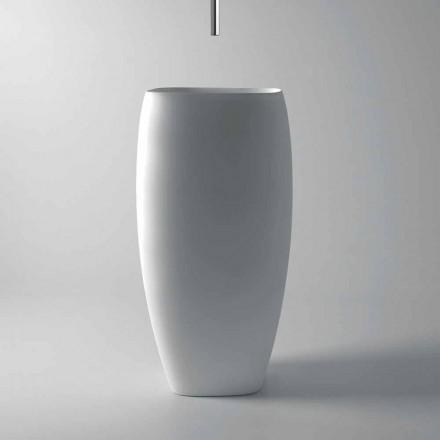 Modernes Design-Keramikwaschtisch Gais, Made in Italy