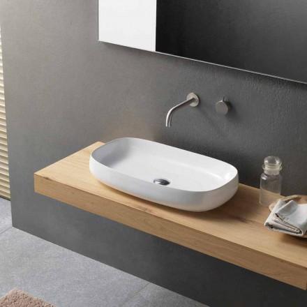 Modernes Design Arbeitsplatte Waschbecken Made in Italy - Tune1