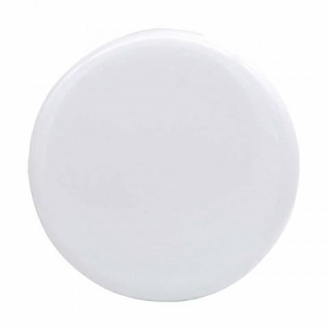Modernes Design Arbeitsplatte Keramik Waschbecken Sun 60x37, hergestellt in Italien