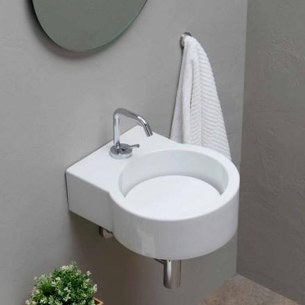 Rundes Aufasatzwaschbecken Design made in Italy Tor